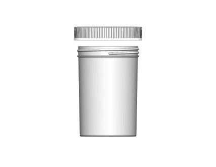 Jar & Cap Combo Case: 89mm - 20 oz