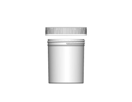 Jar & Cap Combo Case: 89mm - 16 oz