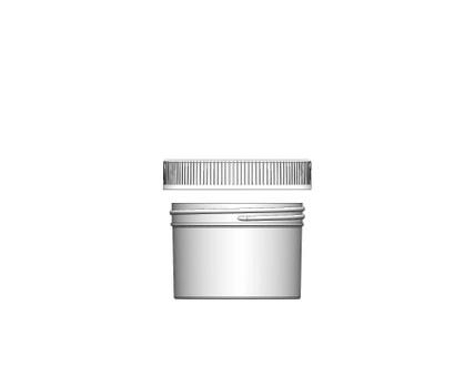 Jar & Cap Combo Case: 89mm - 8 oz