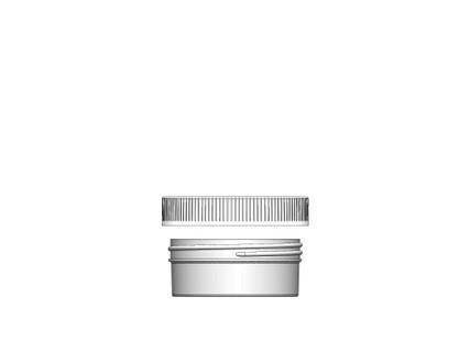 Jar & Cap Combo Case: 89mm - 4 oz