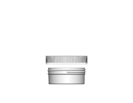 Jar & Cap Combo Case: 89mm - 4 oz