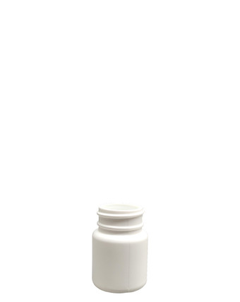 Round Packer HDPE Bottle: 33mm - 1oz