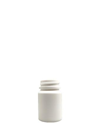 Round Packer HDPE Bottle: 33mm - 1.35oz