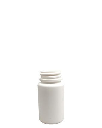 Round Packer HDPE Bottle: 33mm - 2oz