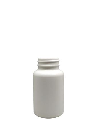 Round Packer HDPE Pharmaceutical Bottle: 38mm - 5oz