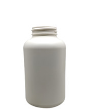 Round Packer HDPE Pharmaceutical Bottle: 45mm - 13.5oz