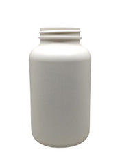 Round Packer HDPE Pharmaceutical Bottle: 53mm - 17oz