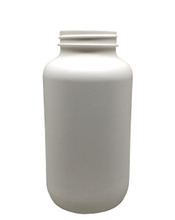 Round Packer HDPE Pharmaceutical Bottle: 53mm - 21oz