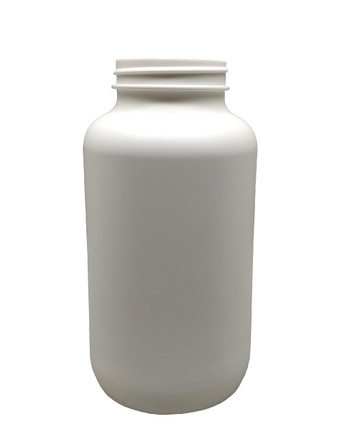 Round Packer HDPE Pharmaceutical Bottle: 53mm - 21oz