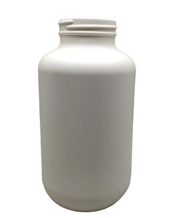 Round Packer HDPE Pharmaceutical Bottle: 53mm - 25oz
