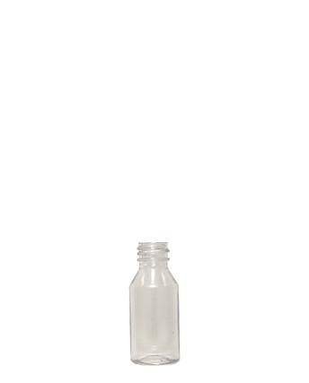 Modern Round PET Bottle: 20mm - 1oz