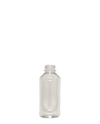 Modern Round PET Bottle: 24mm - 4oz