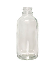 Boston Round Glass Bottle: 22mm - 4oz