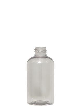 Boston Round Squat PET Bottle: 24mm - 6oz