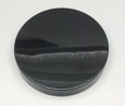 83 mm Smooth Cap - 83mm Smooth Lid - Black
