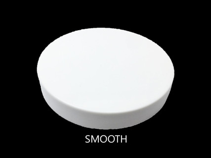 83 mm Smooth Cap - 83mm Smooth Lid - White