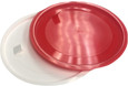 Disc liners in white and red color options. Available in custom colors.