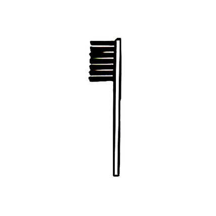 Brushes w/ Black Bristles - for Jewelry Baskets
