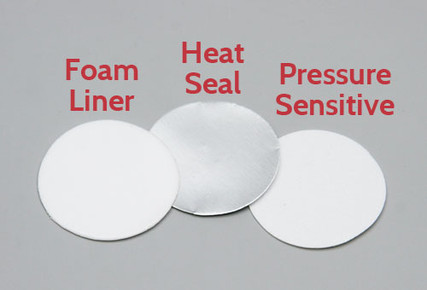 Foam Liner, Heat Seal Liner and Pressure Sensitive Liner