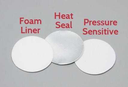 Foam Liner, Heat Seal Liner and Pressure Sensitive Liner