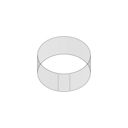"53mm Shrink Sleeve (Regular Wall) - 1.06"" H x 2.26"" D - 5mm Perf"