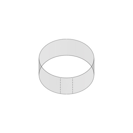 """1/2oz 53mm Shrink Sleeve (Thick Wall) - 0.94"""" H x 2.26"""" D - 5mm Perf"""