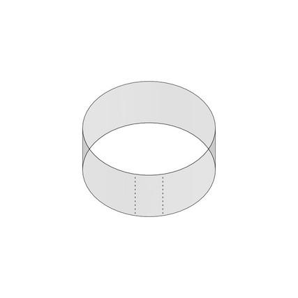 "58mm Shrink Sleeve (Regular Wall) - 1.06"" H x 2.41"" D - 5mm Perf"