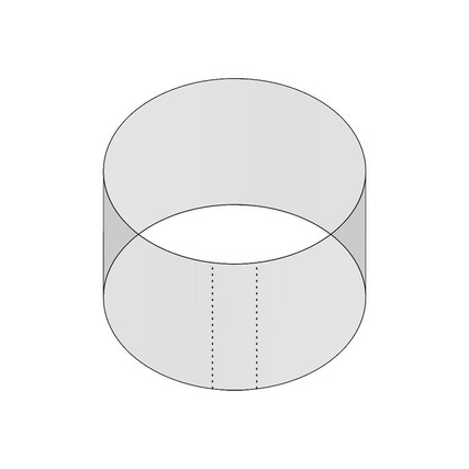3oz 70mm Shrink Sleeve (Thick Wall) (PB0700300 SHRINK SLEEVE - Samples for Product Testing - No Minimum)