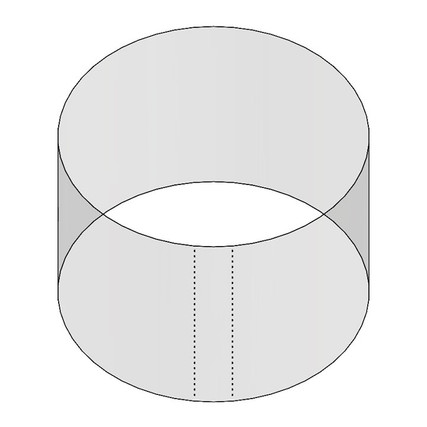 10oz 100mm Shrink Sleeve (Thick Wall) (PB1001000 SHRINK SLEEVE - Samples for Product Testing - No Minimum)