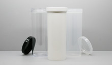 Sample Pack - Regular Wall Plastic Jars & Caps