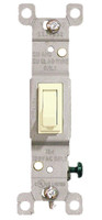 Single Pole Toggle Switch 15A Almond