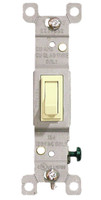 Single Pole Toggle Switch 15A Ivory