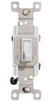 Three Way Toggle Switch 15A White