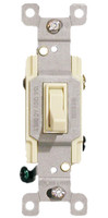 Three Way Toggle Switch 15A Almond