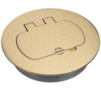 Carlon Brass Floor Box Cover Kit