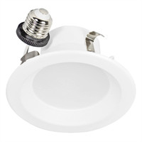 "4"" LED Recessed Retrofit Kit 3000K Smooth"