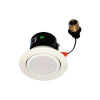 "4"" LED Recessed Retrofit Kit Gimbal 3000K  (Dimmable)"
