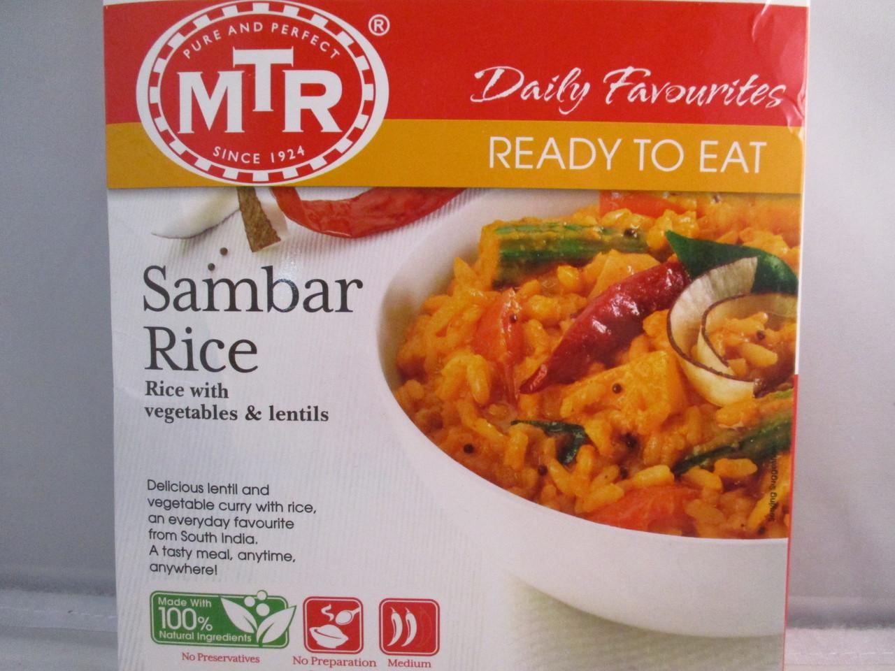 MTR Sambar Rice - Ready to Eat