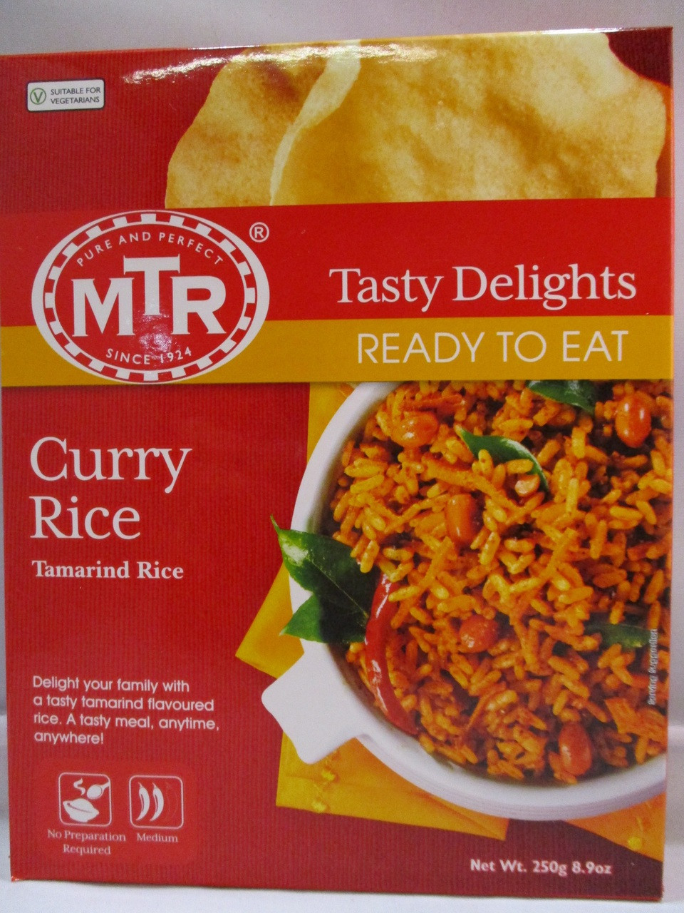 5f05cd29a55fcd MTR Curry Rice - Ready to Eat - Patel Brothers