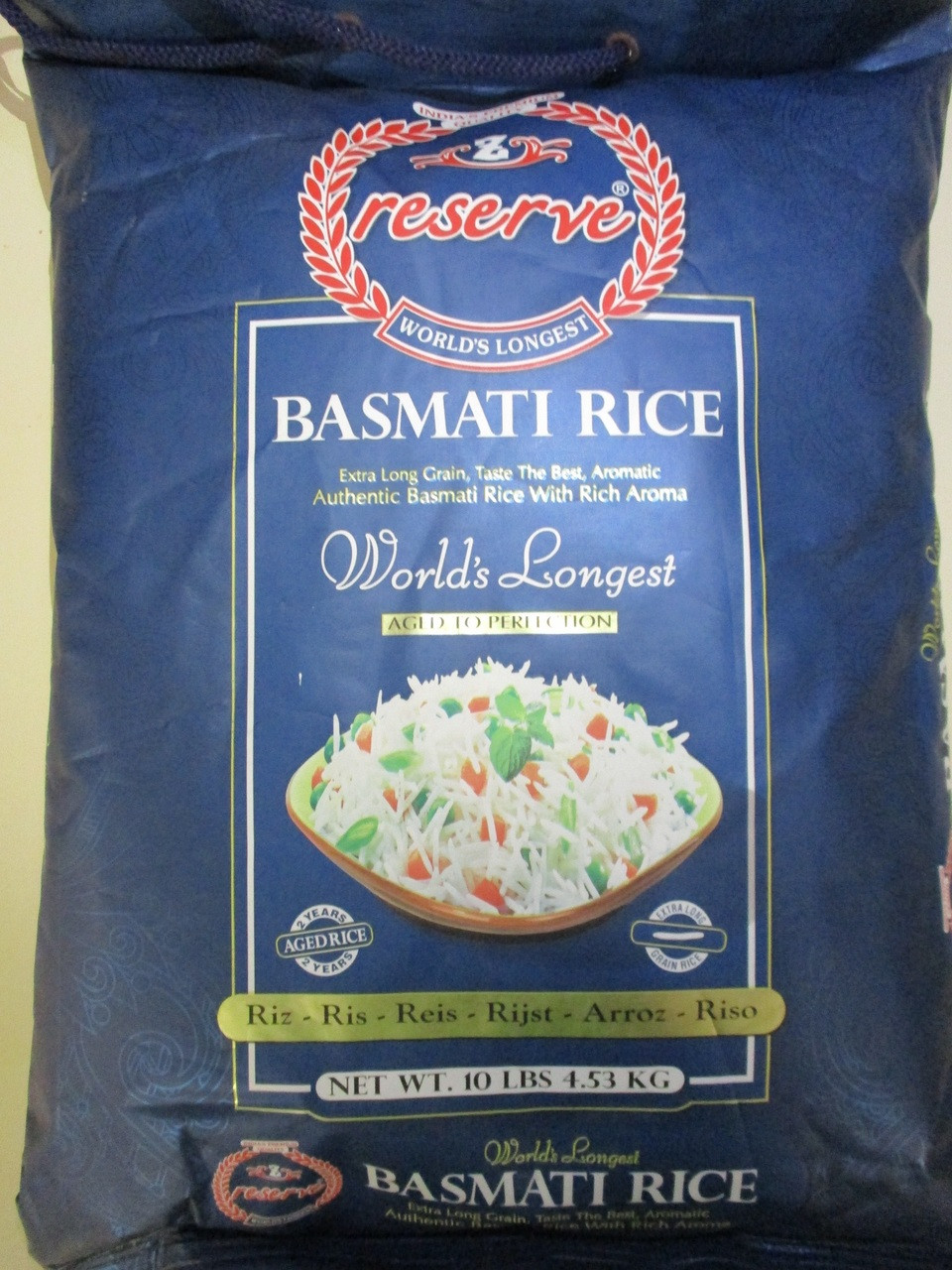 Zafarani Reserve Basmati Rice