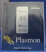 Plasmon 9.1gb WORM MO Disks (P9100W)