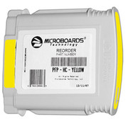 Microboards PFP Yellow Ink Cartridge