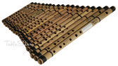MAHARAJA MUSICALS 18 pc Bansuri Set, Bamboo Indian Flutes - No. 125