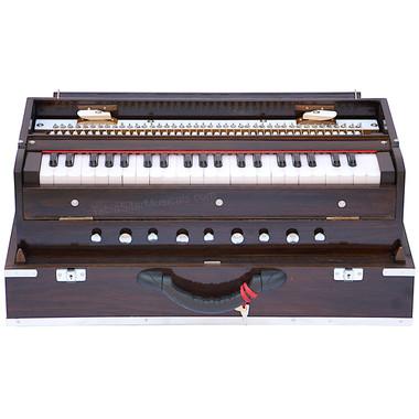 MKS Teak Wood Folding Harmonium