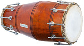 MAHARAJA MUSICALS Special Mango Naal, Natural Color, Bolt tuned, Bag - No. 230