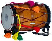 MAHARAJA MUSICALS Natural Punjabi Bhangra Mango Dhol No. 75