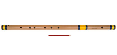 buy Sarfuddin Flutes Concert, Scale D Sharp Bass 30.5 inches, FINEST Indian Bansuri, Bamboo Flute, Hindustani for sale