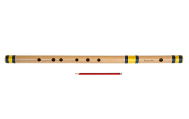 buy Sarfuddin Flutes Concert, Scale F Sharp Bass 26.5 inches, FINEST Indian Bansuri, Bamboo Flute, Hindustani for sale
