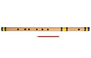 buy Sarfuddin Flutes Concert, Scale G Sharp Bass 24.5 inches, FINEST Indian Bansuri, Bamboo Flute, Hindustani for sale