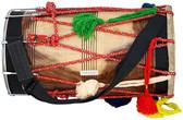 MAHARAJA MUSICALS Natural Punjabi Bhangra Shesham Dhol, Dhol No. 141